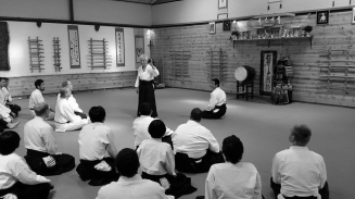 Sensei teaching