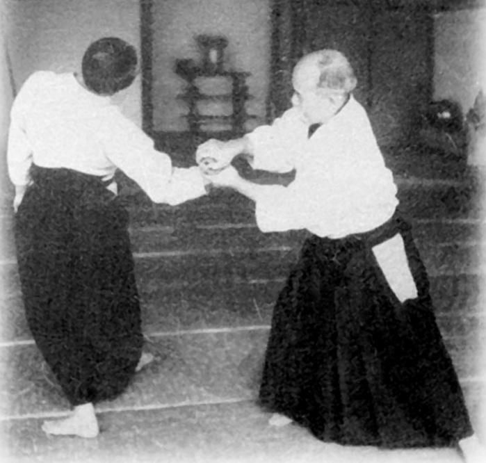 Training notes: Ai hanmi katatedori kotegaeshi | Aikido
