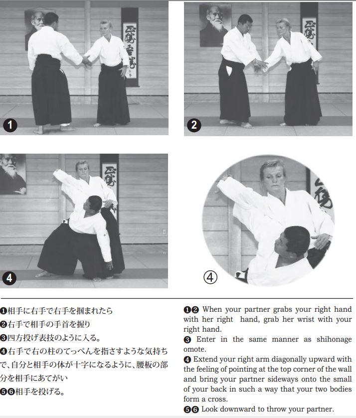 Training notes – Ai hanmi katate dori koshi nage (kosadori